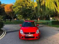 2007 Suzuki Swift 1.5 GLX 5 Door Hatchback Red