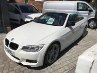 BMW 3 SERIES 320D SPORT PLUS EDITION 39,000 miles, FSH White Manual Diesel, 2012