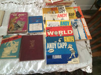 1940 military and other cartoon books
