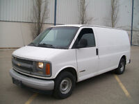 READY TO WORK 2002 CHEVY EXPRESS 1500 CARGO VAN NICE UNIT $3800!