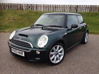 2003 MINI COOPER S 1.6 16V SUPERCHARGED - 78K MILES - F.S.H - TOP SPEC - 3 MONTHS WARRANTY
