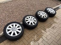 "15"" Ford Fiesta Set Of 4 Alloy Wheels"