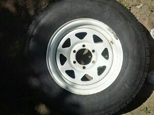 FIFTH WHEEL - TRAILER TIRE
