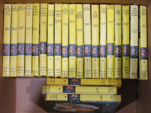 Vintage hardcover Nancy Drew books