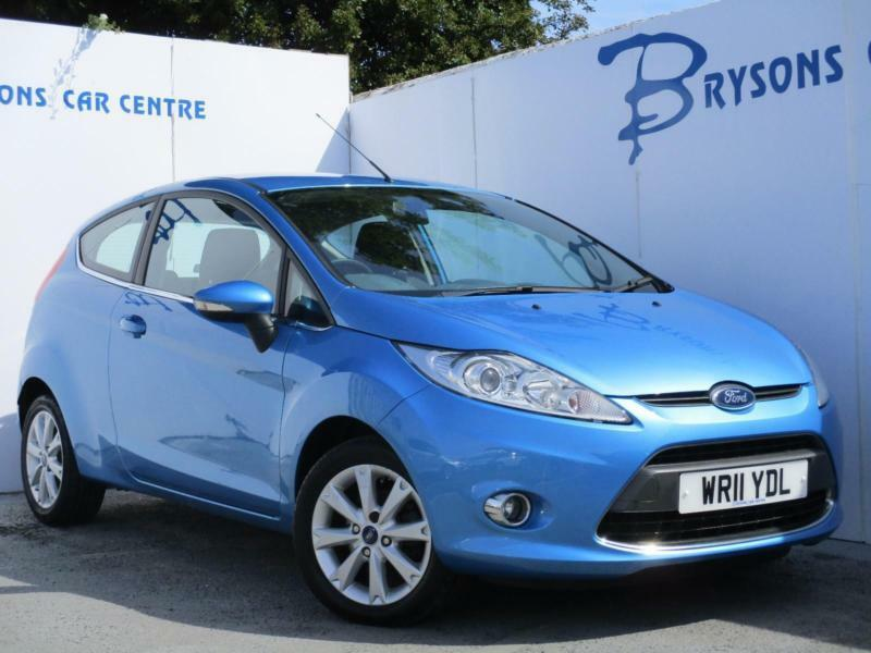 2011 11 Ford Fiesta 1.25 ( 82ps ) Zetec Manual for sale in AYRSHIRE
