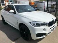 2018 BMW X6 XDRIVE30D M SPORT Auto Coupe Diesel Automatic
