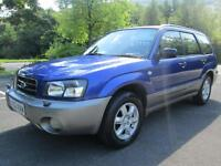 02/52 SUBARU FORESTER X ALL WEATHER 2.0 ESTATE WITH FULL SUBARU SERVICE HISTORY