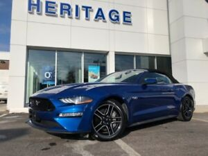 2018 Ford Mustang GT Premium CONVERTIBLE  LCD DASH  HEATED / COO