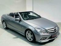 MERCEDES-BENZ E-CLASS CONVERTIBLE E220 CDI SPORT AUTO GREY A207 2011 CAB