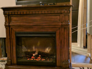 Dimplex Mantel electric fireplace with remote,