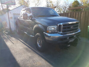 2004 Ford F-350 4x4 turbo diesel with Blizzard 8/10 plow