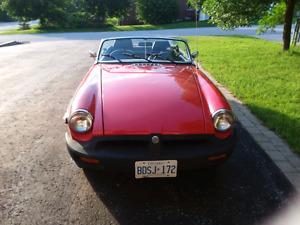 1977 MGB Convertible