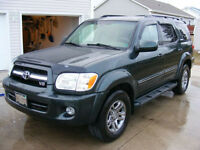 2006 Toyota Sequoia Limited , Reduced!!