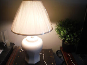 Off White Lamp