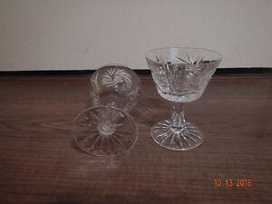 CRYSTAL SHERBET GLASSES