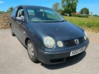 2003 Volkswagen Polo 1.2 E 65 3dr .......P/X CAR TO CLEAR....MOT DECEMBER.... HA