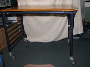 Steel Base Table
