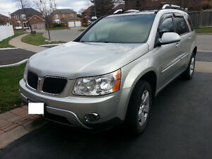2007 Pontiac Torrent SUV, Safety and etest done. must sell.