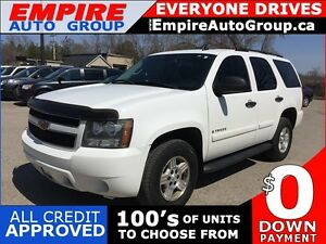 2007 CHEVROLET TAHOE LT * 4WD * LEATHER * POWER GROUP * 8 PASS