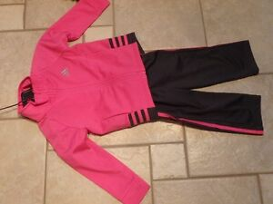 Girl's 2 Piece Adidas Outfit Size 2
