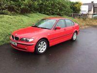 BMW 316i (03) 1 YEAR MOT, WARRANTY, NOT ASTRA FOCUS 207 307 GOLF A3