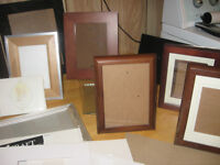 Several Frames and Accessories