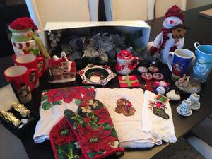 Christmas Decorations - Large Lot