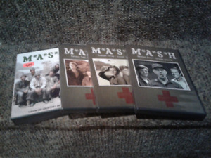 MASH DVDs Seasons 1, 2, 3 and 4