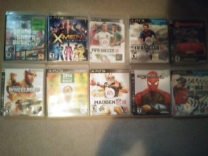 Ps3 10 games !!! For $$80