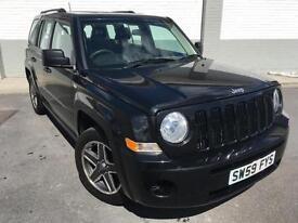 2009 Jeep Patriot 2.0CRD Sport 5 door **Metalic Black 4x4**