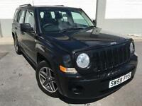 2009 Jeep Patriot 2.0CRD Sport 5 door **Metalic Black 4x4**