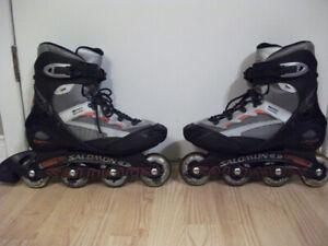 Patins à roues alignées pour homme (10, adulte), 40$.