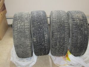 "Set of 4 Izen Studded Winter Tires on Rims-P225/60R16"" Regina Regina Area image 3"