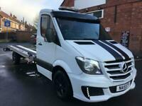 Mercedes-Benz Sprinter 2.1TD auto 316CDI LWB Recovery Pickup Car Transporter