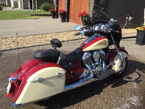 2015 Indian Chieftain - Showroom  Condition