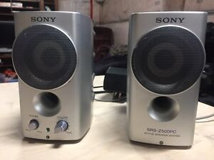 SONY speakers for PC, laptop, tablet or mobile phone