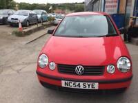 Volkswagen Polo 1.2 ( 55bhp ) E 3 DOOR - 2005 05-REG - FULL 12 MONTHS MOT