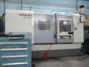 Cheveliar FCL-1028 CNC Turning Center Lathe (1025 Cutting Hours)