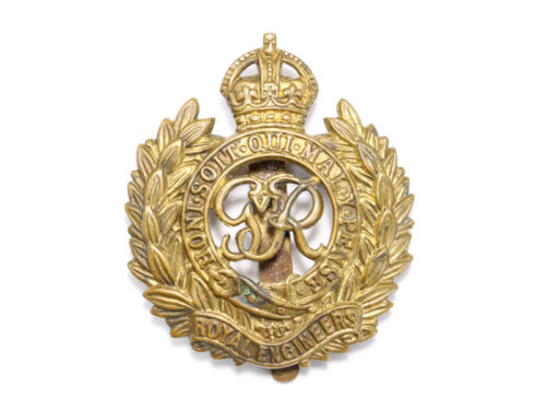 WW1 Cap Badge of Royal Engineers or Sappers E710