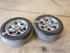 "20"" GM rims and tires"
