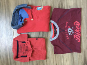 Lot 1 polo Sergent Major / 2 Tshirts ML  - Taille 3 ans