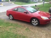 Honda Accord Coupe V6 manuelle 2006