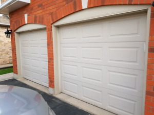 8ft x 7ft Insulated Garage Doors