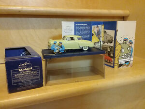 Tintin voiture de collection
