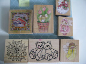 VARIOUS RUBBER STAMPS