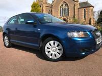*12 MTHS WARRANTY*2007(07)AUDI A3 1.6 3DR SPECIAL EDITION WITH ONLY 65K FSH*