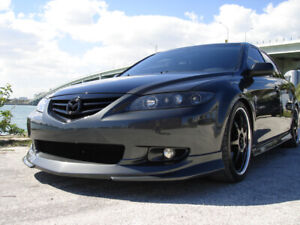 03 04 05 Mazda6 front lip br style new