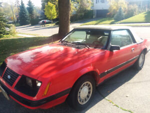 1983 Ford Mustang Convertible GLX