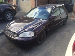 Parting out: 99 civic hatch - k20a2 FULL PART OUT