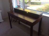 Mahogany Desk/Table